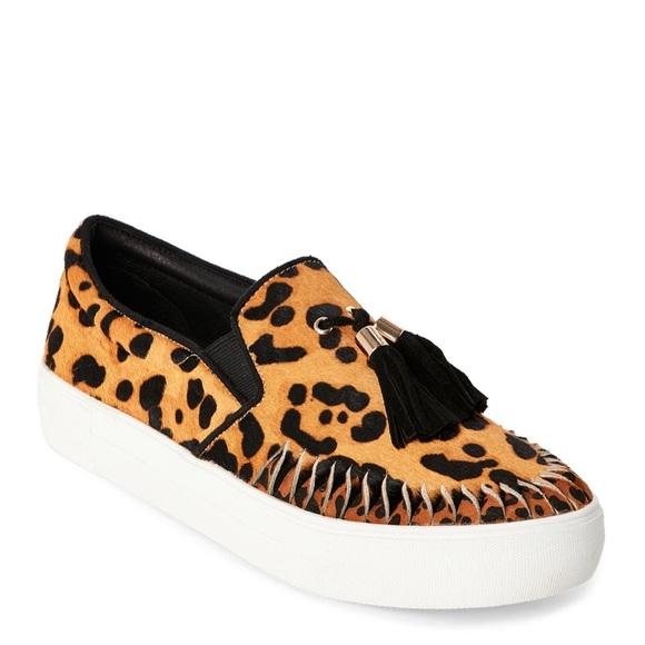 J/SLIDES Shoes | J Slide Leopard Aztec